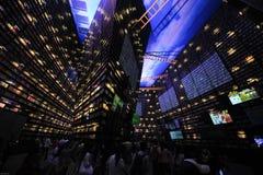 中国商展2010年上海城市居民亭子 免版税库存图片