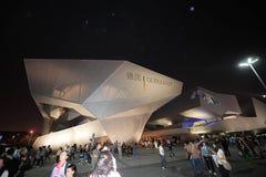 中国商展2010年在上海德国亭子 免版税库存照片
