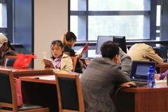 中国国家图书馆 免版税图库摄影