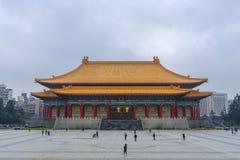中国国家戏院在台北 免版税库存照片