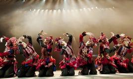 中国国家舞蹈演员 免版税库存照片