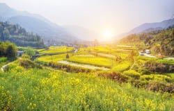 中国国家边 免版税图库摄影