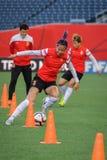 中国国家队 国际足球联合会Women's世界杯 库存照片