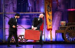从中国国民马戏的杂技演员 库存照片