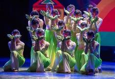 中国国籍茉莉花伙计舞蹈一个美好的片断  库存图片