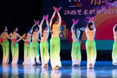 中国国籍茉莉花伙计舞蹈一个美好的片断  图库摄影