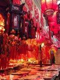 中国在销售中的春节物品 图库摄影