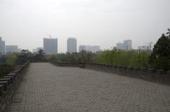 中国城市墙壁邯郸 免版税图库摄影