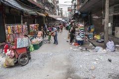 中国城镇在曼谷 免版税库存照片