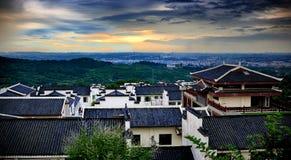 中国城镇 图库摄影