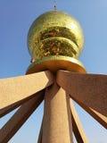 中国塔大厦上面  库存图片