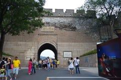 中国墙入口 库存图片