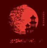 中国夜 免版税图库摄影