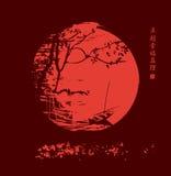 中国夜 免版税库存照片