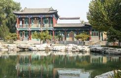 中国大厦在公园#1 免版税库存图片