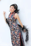中国夫人 免版税图库摄影