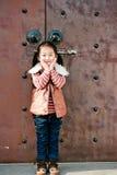 中国女孩一点 免版税库存照片
