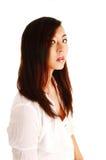 中国女孩画象。 免版税图库摄影