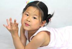 中国女孩 免版税库存图片