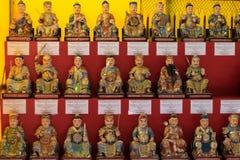 中国女神雕象 库存图片
