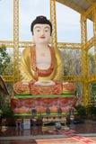 中国女神雕象 免版税库存照片