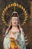 中国女神guan yin 免版税库存图片
