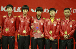 中国女队 库存图片