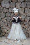 中国妇女的画象 免版税图库摄影