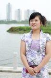 中国妇女 免版税库存照片
