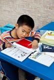 中国学员 图库摄影