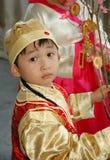 中国孩子 免版税库存图片