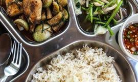 中国完全膳食。 图库摄影