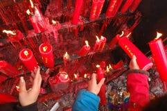 中国宗教信仰 免版税库存图片