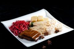 中国官员食品成分 库存照片