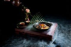 中国官员食物Haggis 免版税库存照片