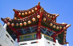 中国寺庙吉隆坡的细节 库存照片