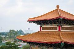中国寺庙在曼谷 免版税库存照片