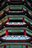 中国寺庙, Jinting高地 免版税库存图片