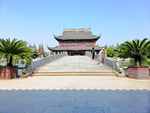 Solemn Daxiong Hall stock images