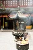 中国小寺庙 免版税图库摄影