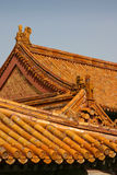 中国屋顶 免版税库存图片