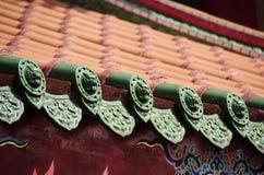 中国屋顶 免版税图库摄影