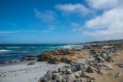 中国岩石, 17英里驱动,加利福尼亚,美国 库存图片