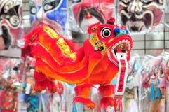 中国工艺品狮子 库存照片