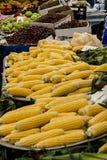 中国市场蔬菜 玉米 免版税库存图片