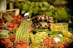 中国市场蔬菜 库存图片