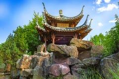 中国庭院斯图加特 免版税库存图片