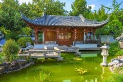 中国庭院斯图加特 库存照片