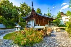 中国庭院斯图加特 图库摄影