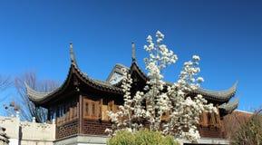 中国庭院波特兰 免版税库存照片